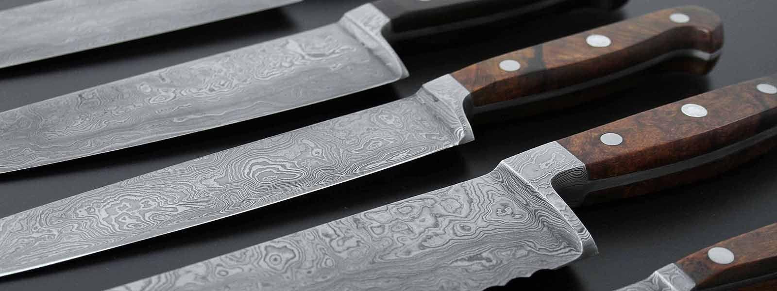 Guede уникальные ножи ручной работы из